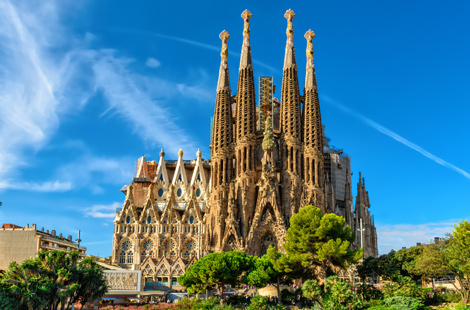 Sagrada Familia Kathedrale in Barcelona