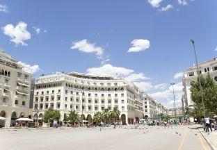 Aristotelesplatz Thessaloniki