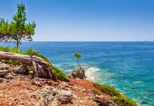 Küste bei Kemer Antalya Flughafen