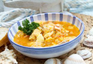 Muschelsuppe Chile