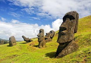 Rano Raruku Moai Chile
