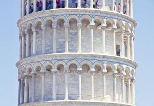 Schiefer Turm Pisa Flughafen