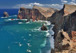 Steilküste Funchal Flughafen