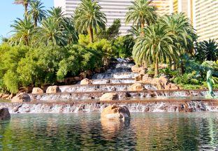 Wasserfall Las Vegas Flughafen