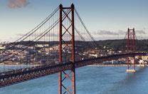 Brücke in Lissabon